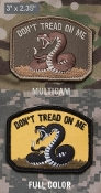 Don't Tread - Patch