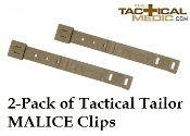 Tactical Tailor MALICE Clip (short) Coyote - 2-Pack