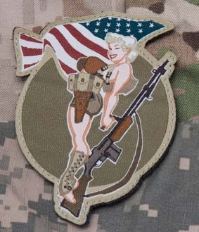 BAR Pinup Patch