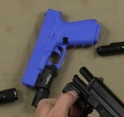 """Blue Gun"" training aid with removable mag"