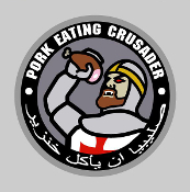 Pork Eating Crusader Sticker