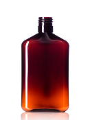 250 mL Amber Plastic Bottle