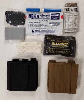Ankle First Aid Kit (AFAK) - STOCKED