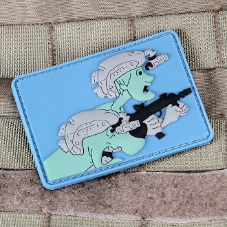 CONTACT FRONT SCOOB MORALE PATCH