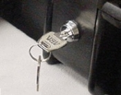 Keyed latches (pair) for cases (specify case)