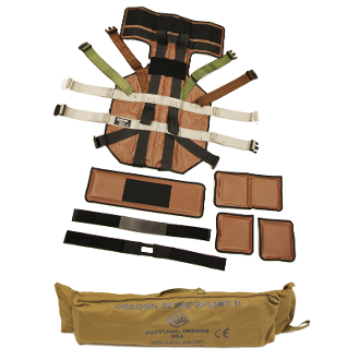 OREGON SPINE SPLINT II, Coyote Brown