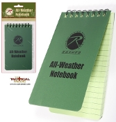 "Weatherproof  3"" x 5"" Field Note Book (OD)"