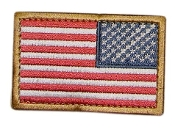 US Flag Patch-Reversed