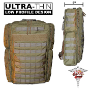 BDS Tactical Combat Trauma Medical Bag - Coyote Brown