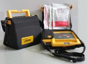 Recertified Lifepak 500 Biphasic AED, Two Button