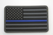 US Flag - Blue Line
