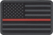 US Flag - Red Line