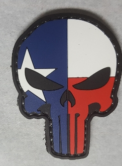 Lone Star Punisher PVC Patch