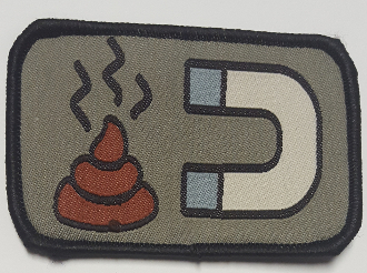 Shit Magnet Patch