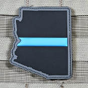 Arizona Blue Line State Flag PVC