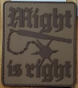"""Might is Right"" Morale Patch"